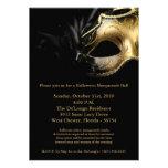 convite da máscara da bola de mascarada de 5x7 o D