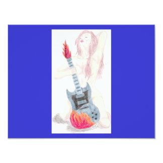 Convite da mulher da guitarra