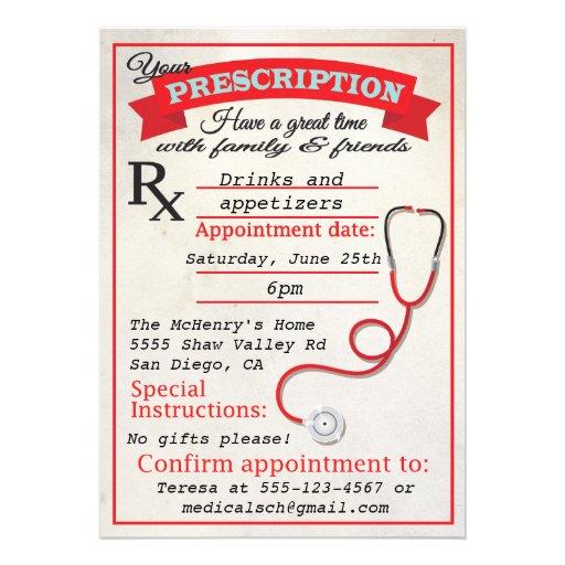 Convite da prescrição da graduação da Faculdade de