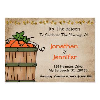 Convite da recepção de casamento do CHURRASCO da