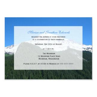 Convite da recepção de casamento somente  -- convite 12.7 x 17.78cm