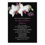 Convite da renovação do voto -- Orquídeas e