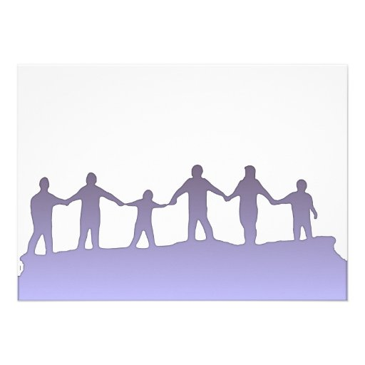 Convite da reunião da mão de n da mão '
