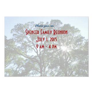 Convite da reunião de família convite 12.7 x 17.78cm