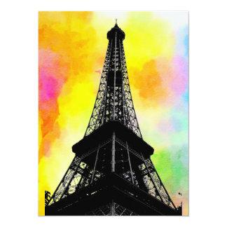 Convite da torre Eiffel