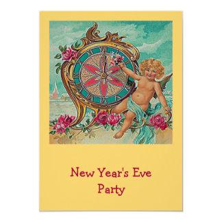 convite da véspera de ano novo convite 12.7 x 17.78cm