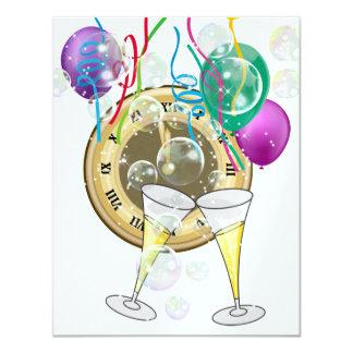 Convite da véspera de Ano Novo por SRF