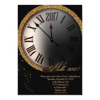 Convite da véspera de Ano Novo, véspera de Ano