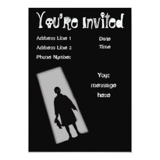Convite da zona do crepúsculo do partido do Dia