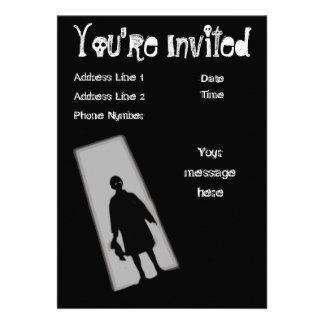 Convite da zona do crepúsculo do partido do Dia da