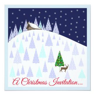 Convite das bebidas e dos Canapes do Natal