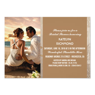 Convite das relações/casamento do amor da praia do