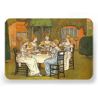 Convite das senhoras das mulheres do chá alto da t