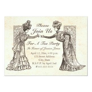 Convite das senhoras do Victorian