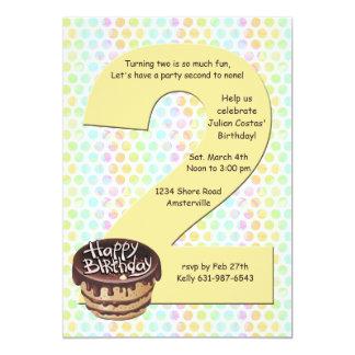 Convite de aniversário 2 grande