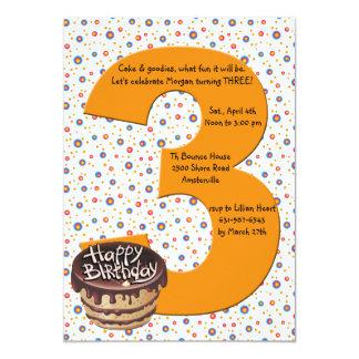 Convite de aniversário 3 grande