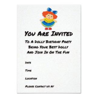 Convite de aniversário da zorra convite 11.30 x 15.87cm