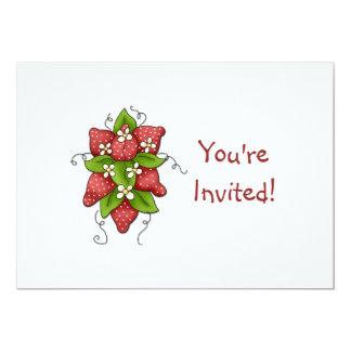Convite de aniversário das morangos