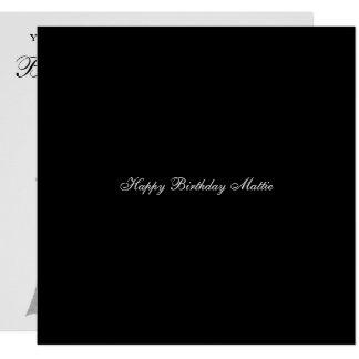 Convite de aniversário do aniversário do noivado