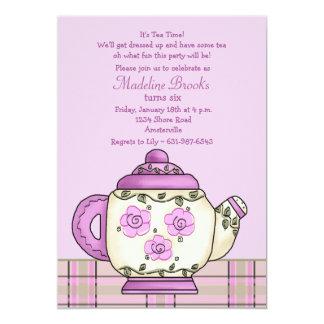 Convite de aniversário do lanche