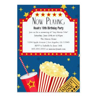 Convite de aniversário do partido   do filme