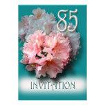 Convite de aniversário dos rododendros 85th