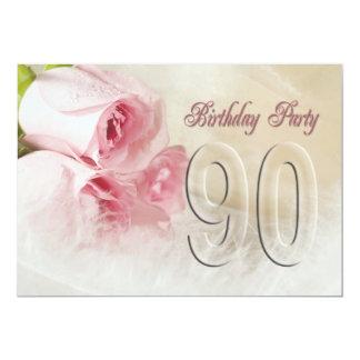 Convite de aniversário por 90 anos