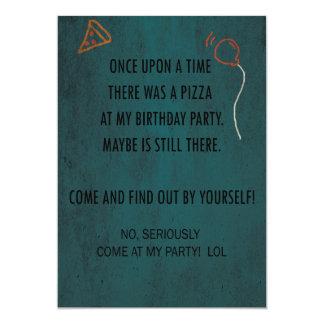 Convite de aniversário! Yey!