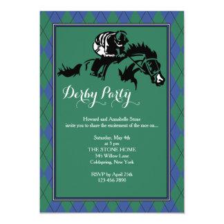 Convite de Argyle da corrida de cavalos
