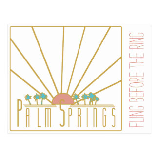 Convite de Bachelorette do Palm Springs