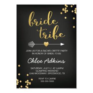 Convite de Bachelorette do tribo da noiva
