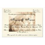 Convite de casamento country, cavalo, horses
