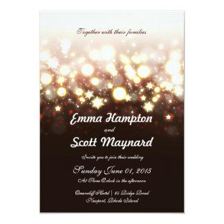 Convite de casamento do clássico das luzes e das