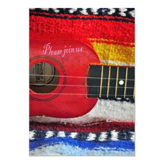 Convite de Cinco De Mayo da guitarra