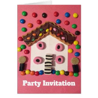 Convite de festas