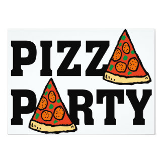 convite de festas 3 da pizza