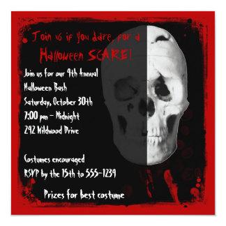 Convite de festas adulto do Dia das Bruxas do