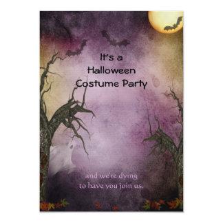 Convite de festas assustador do Dia das Bruxas