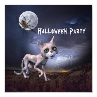 Convite de festas assustador do Dia das Bruxas do