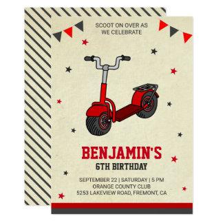 Convite de festas bonito do aniversário de criança