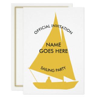 Convite de festas Customisable da navigação