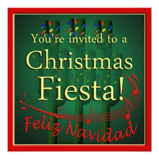 Convite de festas da festa do Natal