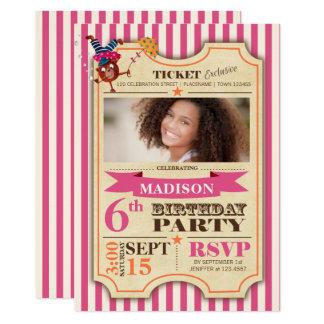 Convite de festas da menina | do aniversário do