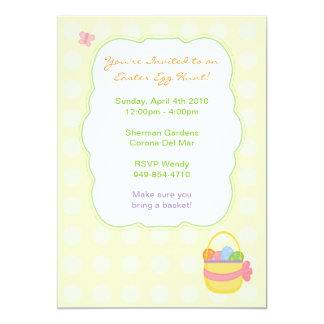 Convite de festas da páscoa