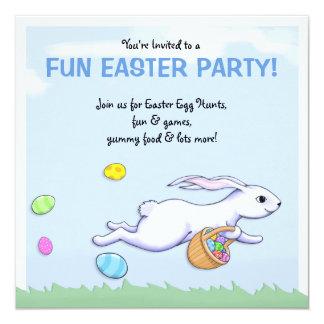 Convite de festas da páscoa do funcionamento do