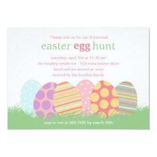 Convite de festas da páscoa dos ovos da páscoa