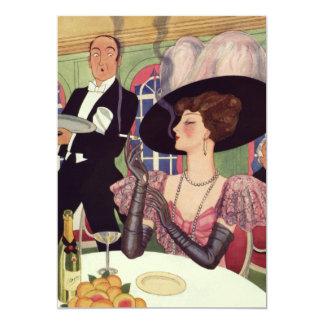 Convite de festas de Bachelorette Champagne do