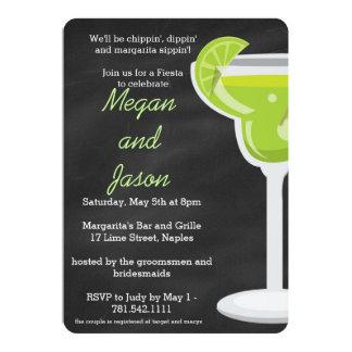 Convite de festas de Margarita do quadro