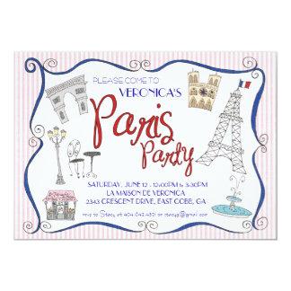 Convite de festas de Paris
