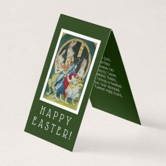 Convite de festas diminuto da páscoa do coelhinho